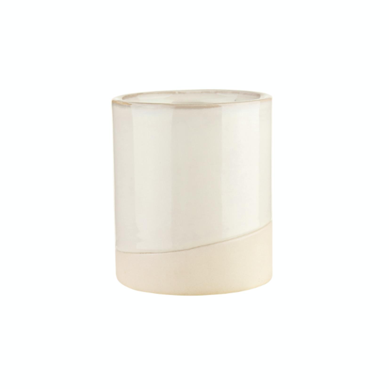 """4"""" Essential Vase - Milk White"""