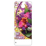 CUT FLOWERS TAG 2″ x 5″