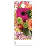 CARE TAG, FLOWER ARRANGEMENT 2″ x 5″
