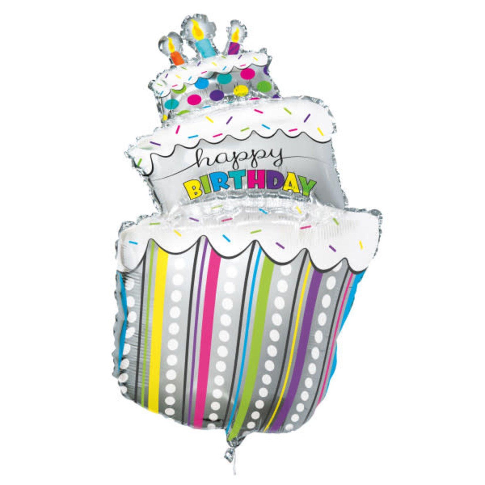 40'' GIANT BD CAKE BALLOON