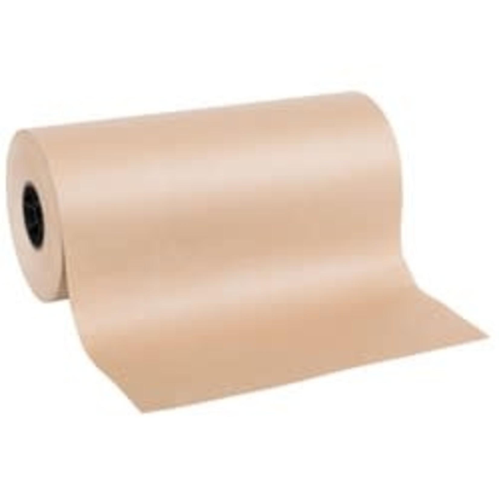 "24"" 40# Natural Kraft Paper Roll"