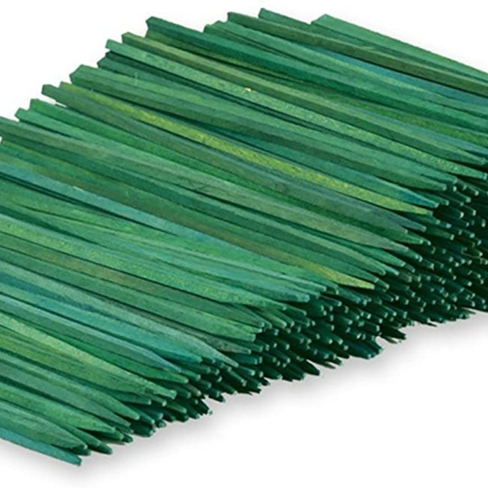 """18"""""""" STAKES STICKS GREEN  packed 1,000 per bundle"""