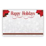 """Happy Holidays"" : Poinsettia Corners"