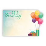 HAPPY BIRTHDAY Ballons & Gifts, Die Cut