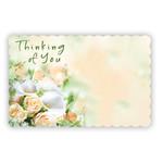 """THINKING OF YOU"" CAPRI CARD, PEACHY BOUQUET"