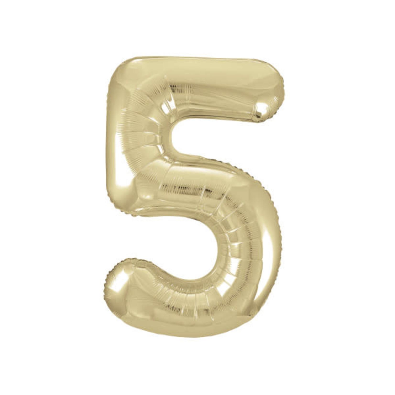 """34"""" PKG GOLD FOIL BLLN-5"""