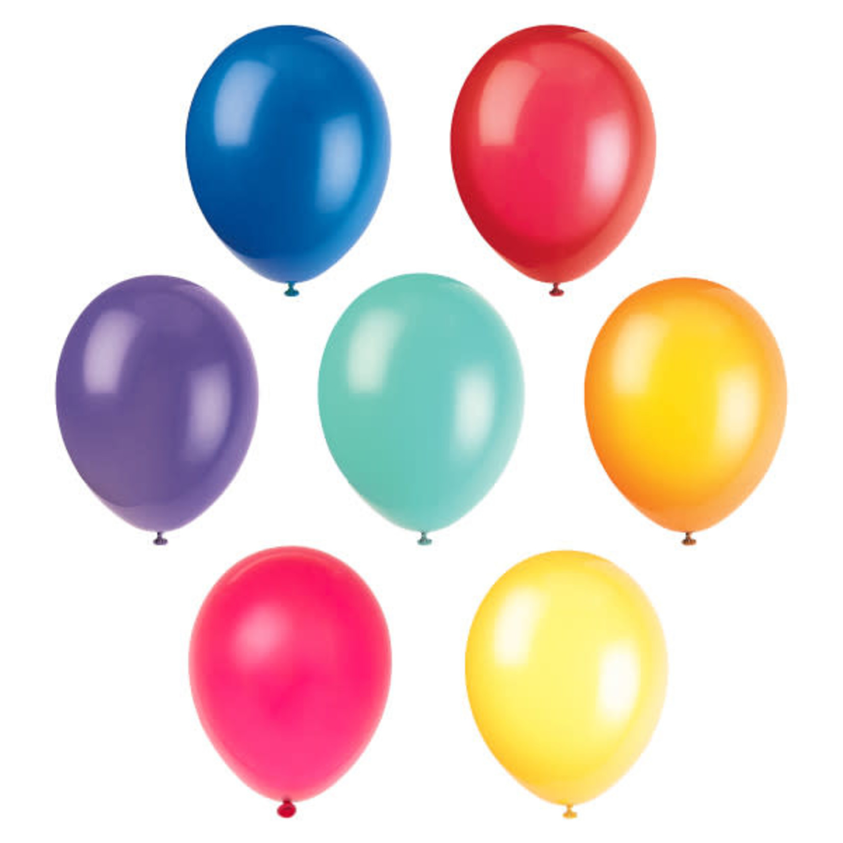10 12'' ASSORTED BALLOONS