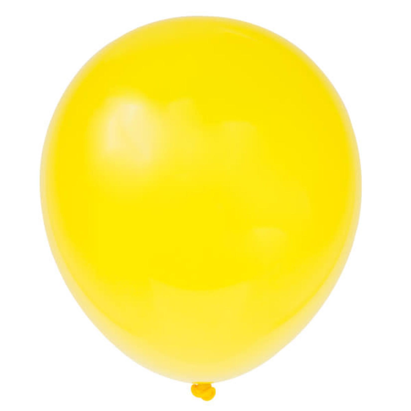 10 12'' YELLOW BALLOONS