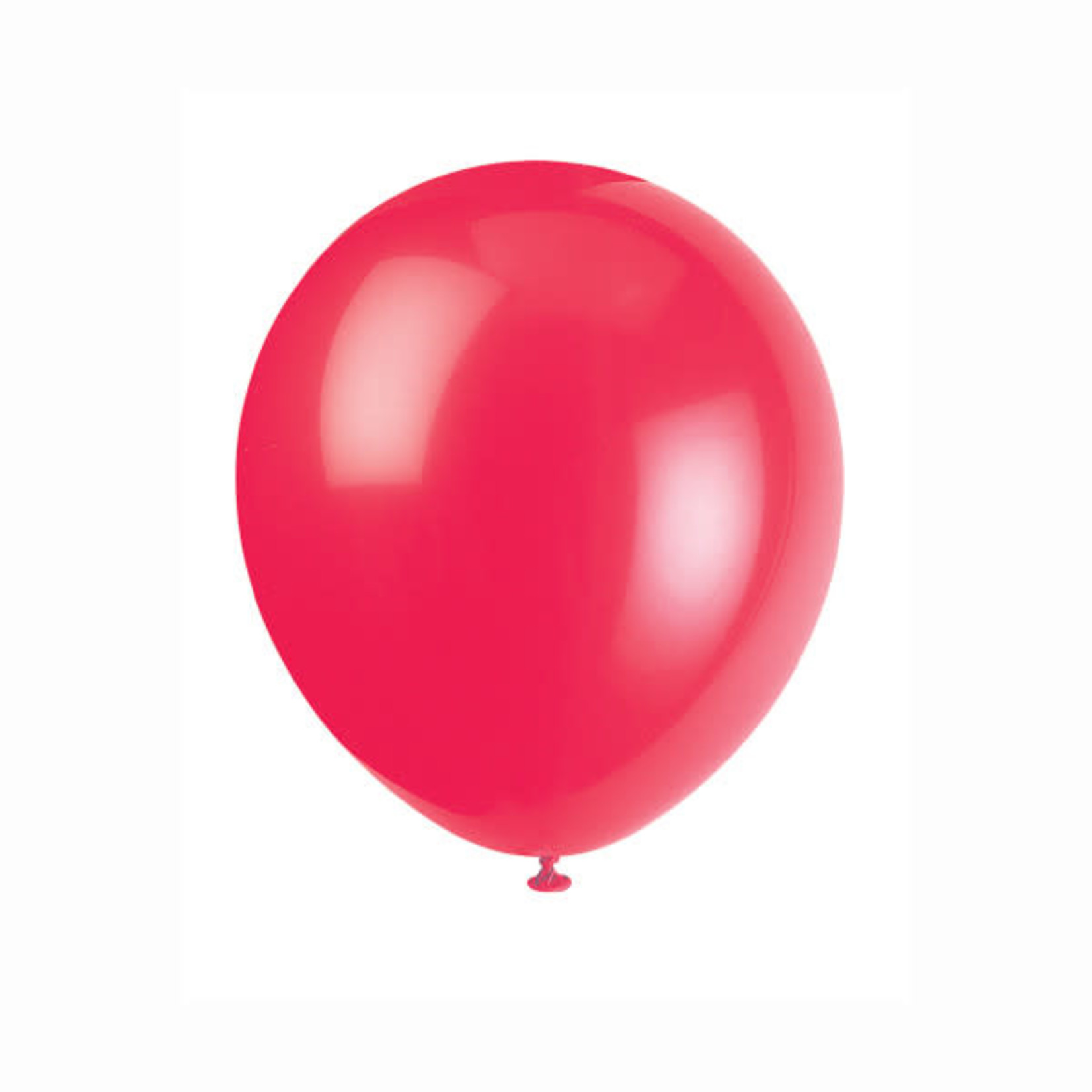 10 12'' RUBY RED BALLOONS