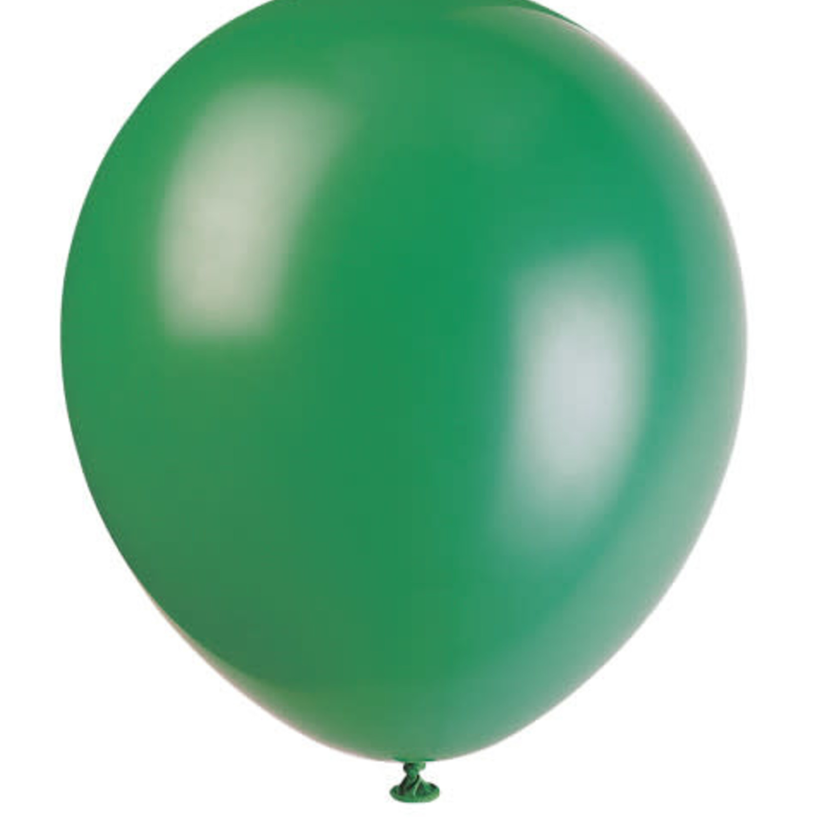 10 12'' FOREST GREEN BALLOONS