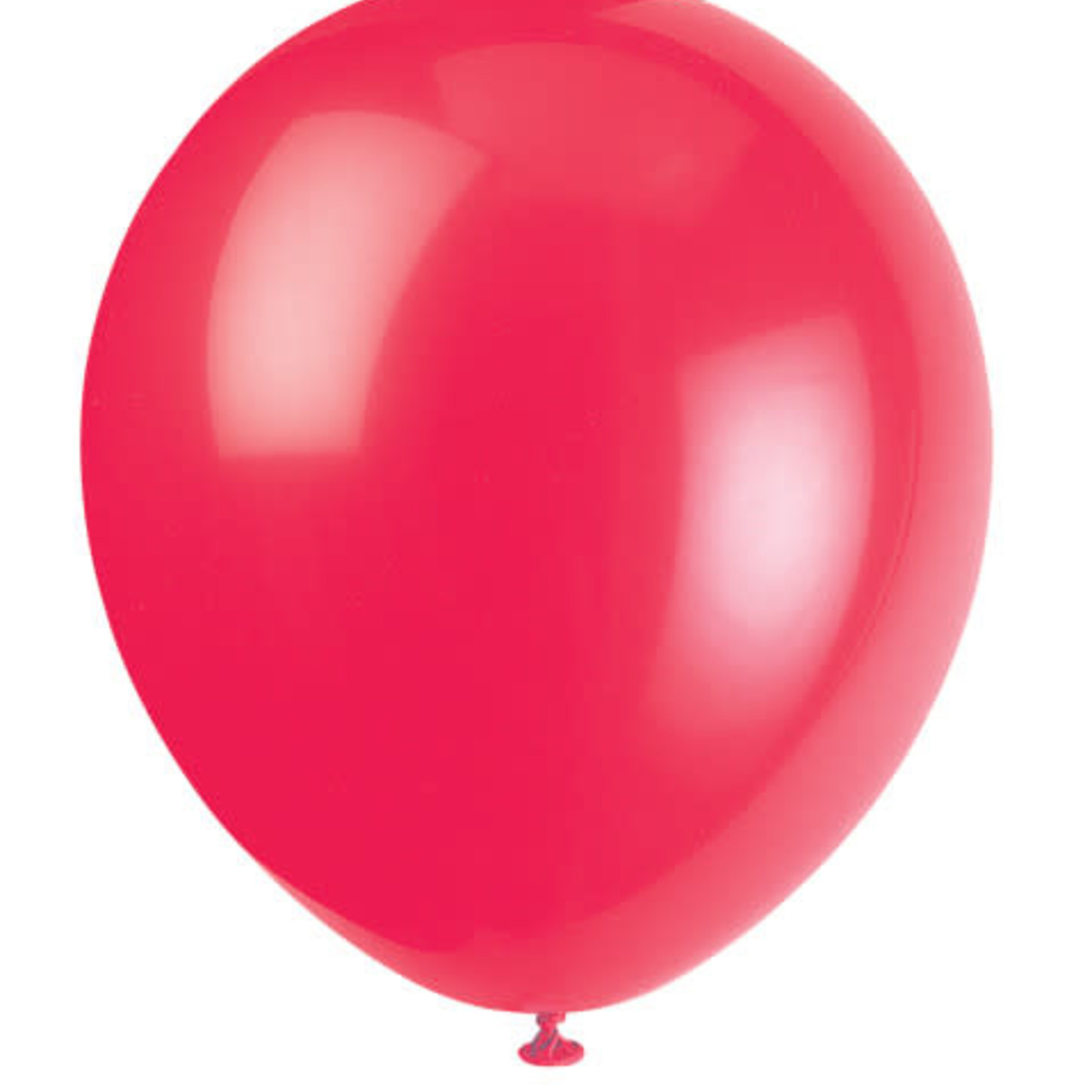 20 9'' RUBY RED BALLOONS
