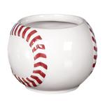 """3.75"""" H x 4"""" W Baseball Planter"""