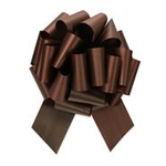 """CHOCOLATE PERFECT BOW , 1.5"""" ribbon width, 5.5"""" bow size, 20 loops"""