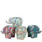 """8.5""""H X13""""L X 6"""""""" COLORFUL ELEPHANT ASSORTED COLORS PER BOX. PACKED 4 PER BOX"""