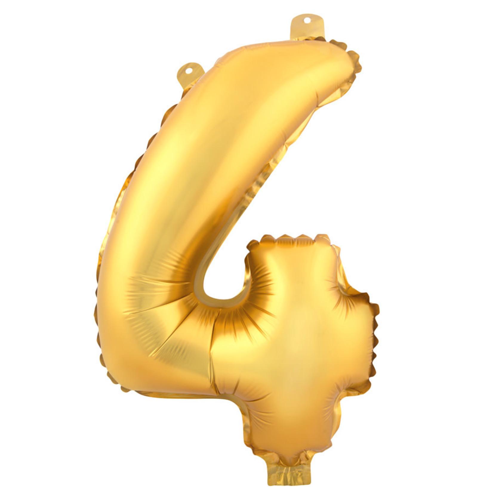 16'' GOLD FOIL BALLOON #4