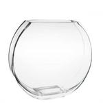 "Bullet Rectangle Vase, Size: 8"" Diameter X 7.25""X 2.5"" Opening X 7.25"" H"
