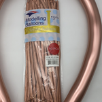 50 CT ROSE GOLD CHROME MODELLING BALLOON