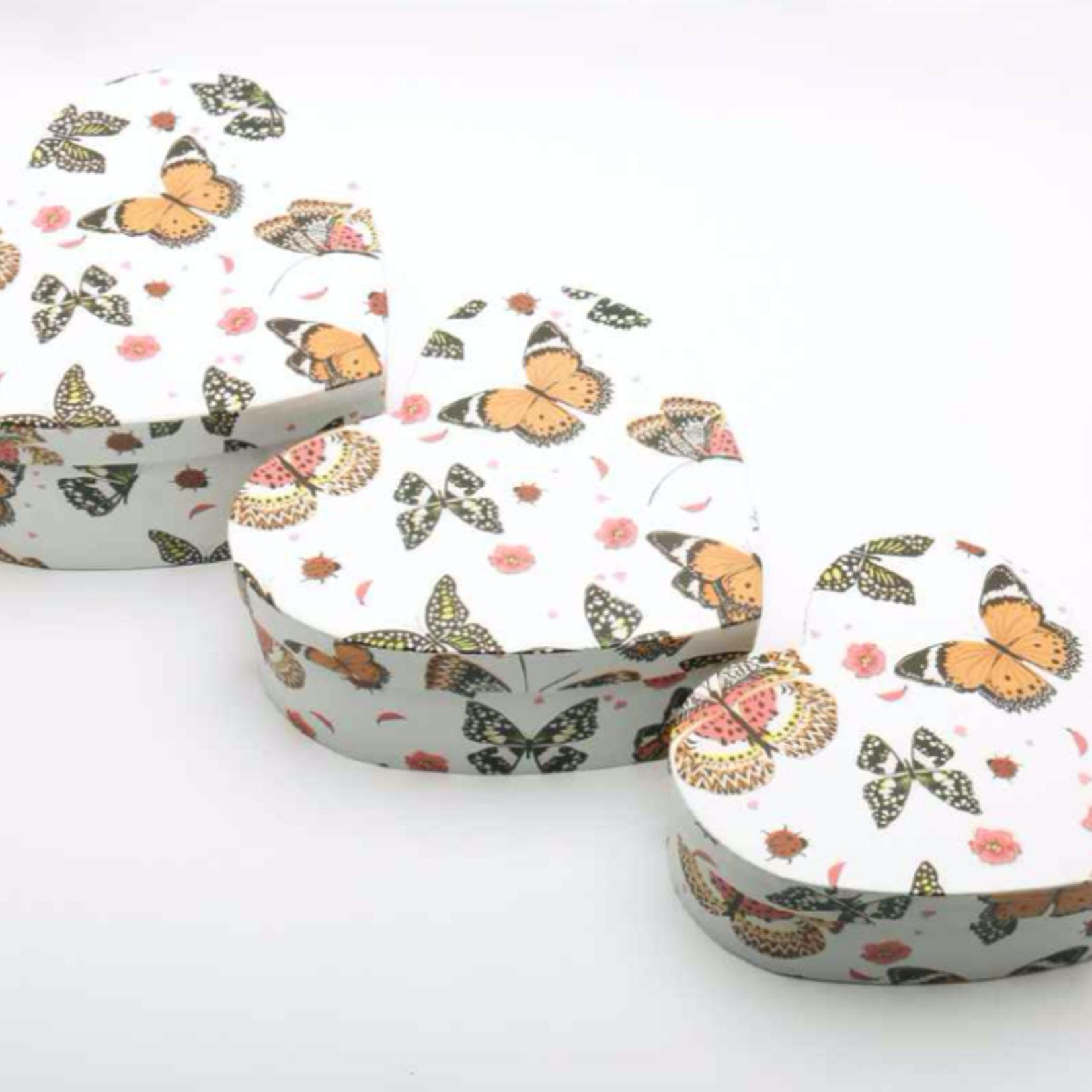 3 PIECE HEART BOX SET, in sets only