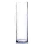 """18""""H X 6""""D CLEAR CYLINDER"""