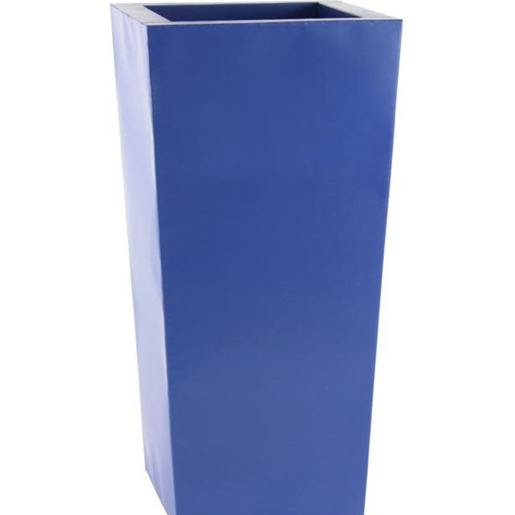 """30% off was $230 now $160.99 42""""H X 21"""" BLUE TAPER METAL PLANTERS"""