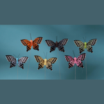 3'' FEATHER BUTTERFLY ASSORTED