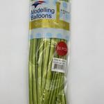 50 CT GREEN CHROME MODELLING BALLOONS