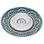15'' MELAMINE CHIP AND DIP TRAY