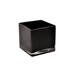 """CANPOL 4"""" x 4"""" x 4"""" BLACK SQUARE CUBES (made in poland)"""