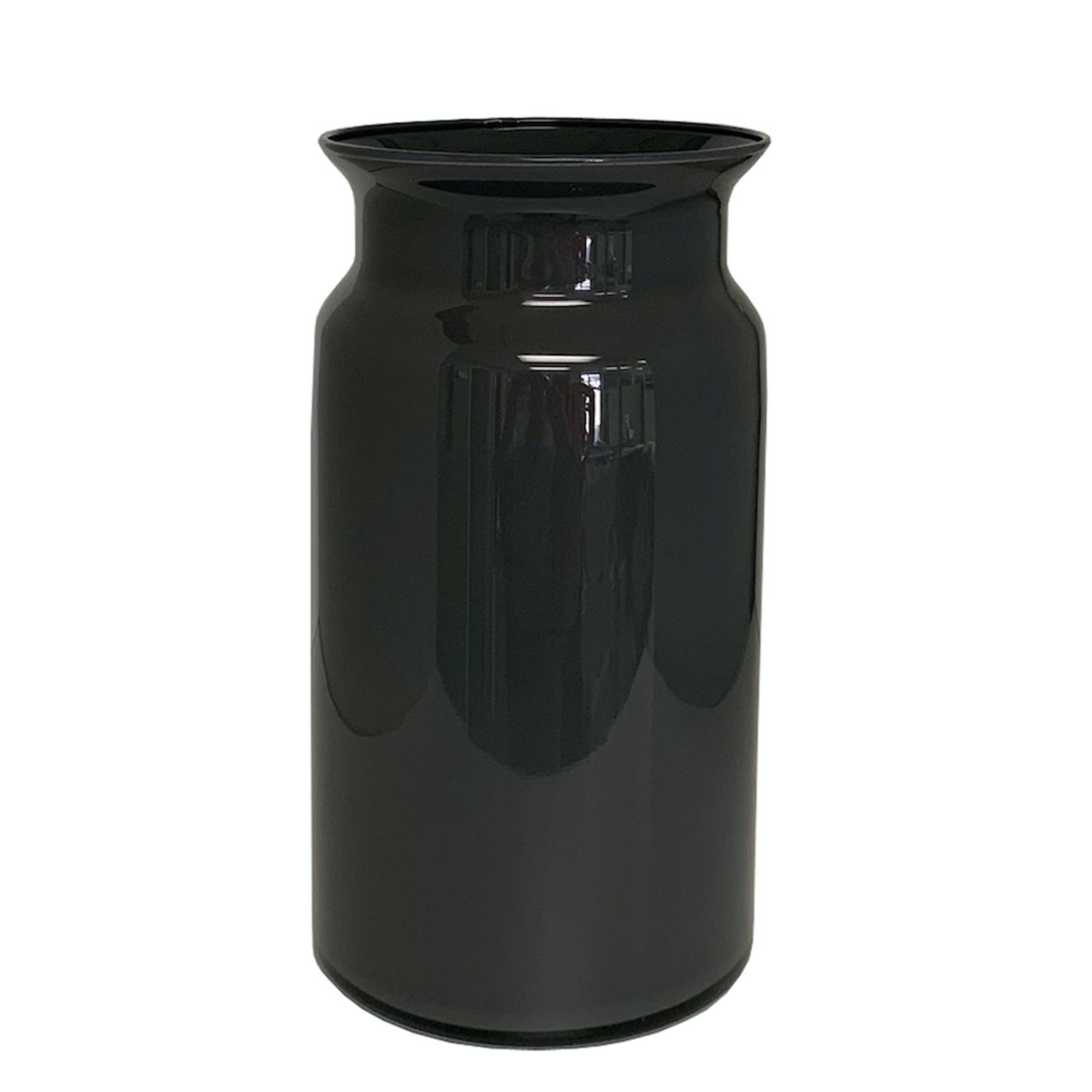 "CANPOL 11.5"" X 6.25"" DARK GREY LARGE GLASS JAR"