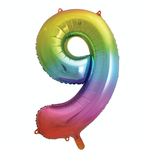 34'' RAINBOW FOIL BALLOON #9