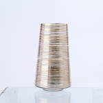 """11.5""""H X 6.5"""" GOLD TAPERED CYLINDER"""