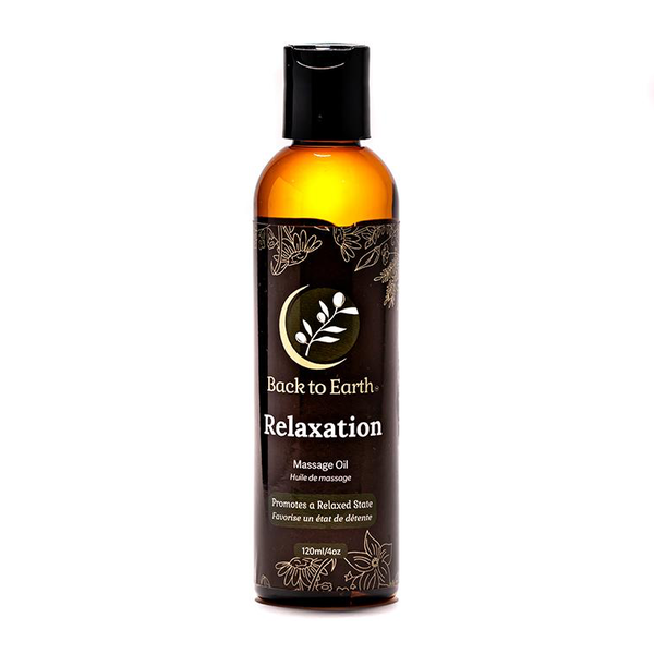 Back to Earth Back to Earth Relaxation Massage Oil 120 ml