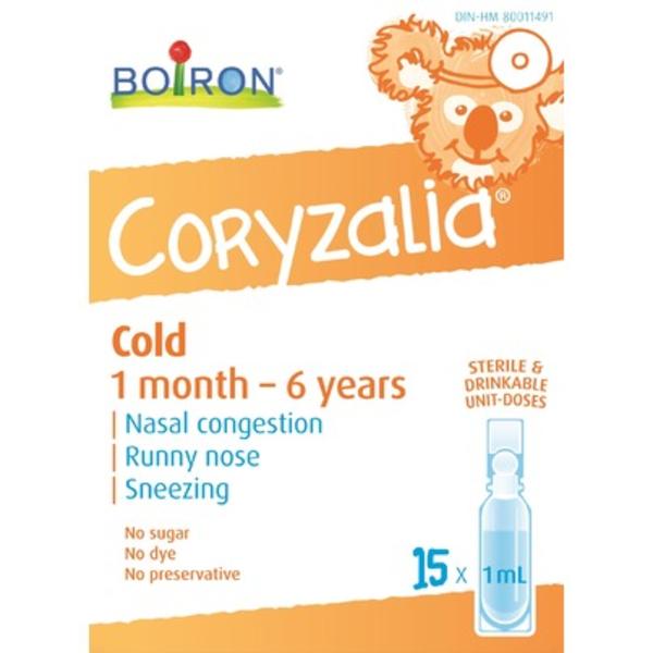 Boiron Boiron Childrens Coryzalia Cold 15 x 1 ml doses