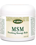 Flora Flora MSM Soothing Massage Rub 120ml