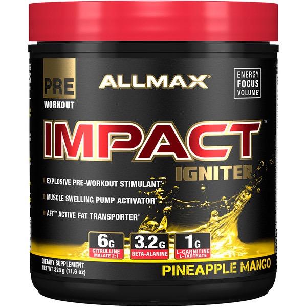 Allmax Nutrition Allmax Impact Igniter Pineapple Mango 328g