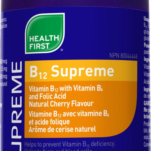 Health First Health First B12 Supreme 60 lozenges