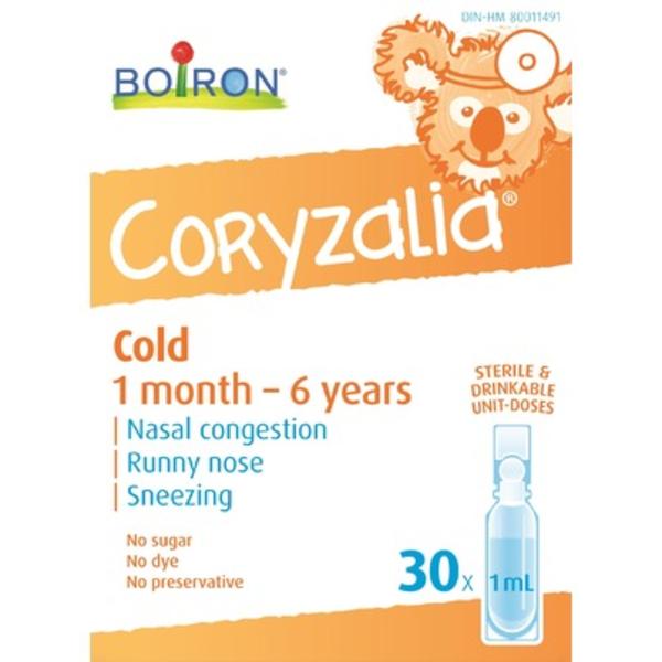 Boiron Boiron Childrens Coryzalia Cold 30 x 1 ml doses