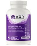 AOR AOR High Dose R-Lipoic Acid 300 mg 60 vcaps