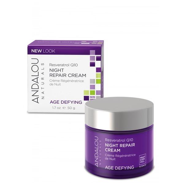 Andalou Naturals Andalou Age Defying Resveratrol Q10 Night Repair Cream 50ml