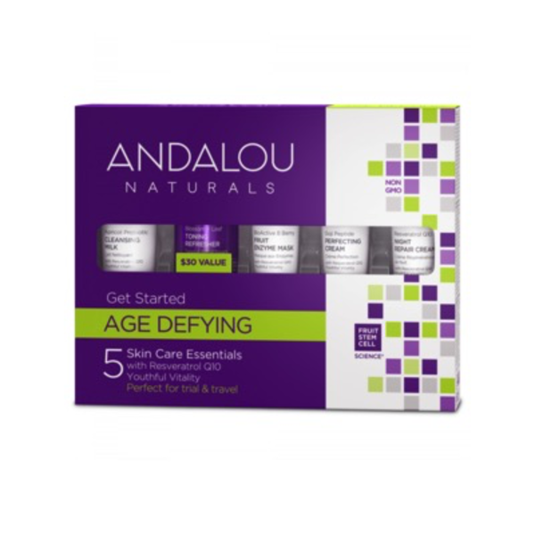 Andalou Naturals Andalou Get Started Age Defying Kit 5 pcs