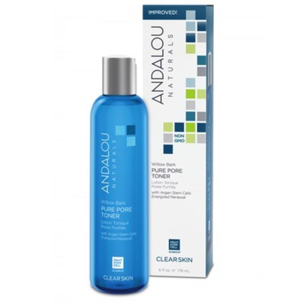 Andalou Naturals Andalou Clear Skin Aloe + Willow Bark Pure Pore Toner 178ml