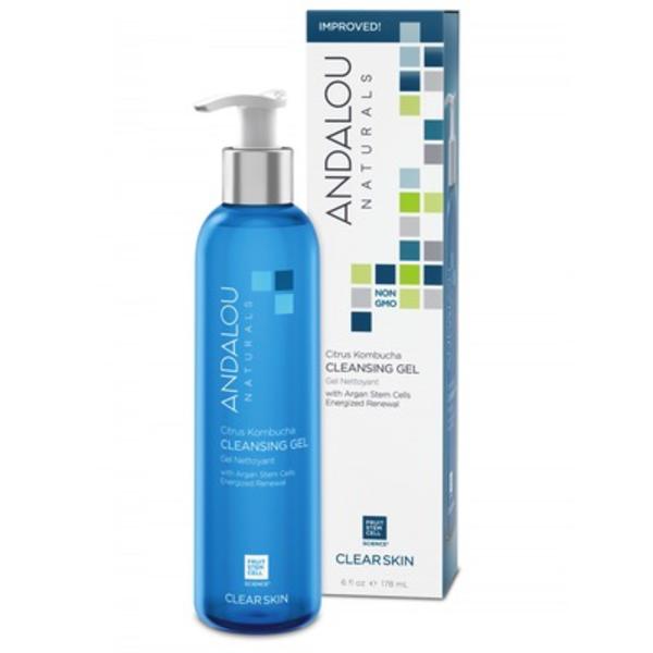 Andalou Naturals Andalou Clear Skin Citrus Kombucha Cleansing Gel 178ml