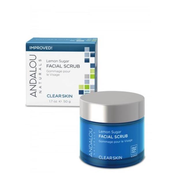 Andalou Naturals Andalou Clear Skin Lemon Sugar Facial Scrub 50ml