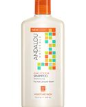 Andalou Naturals Andalou Argan Oil & Shea Moisture Rich Shampoo 340ml