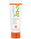Andalou Naturals Andalou Argan Oil & Shea Styling Cream 200ml