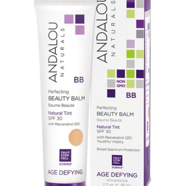 Andalou Naturals Andalou Age Defying Beauty Balm Skin Perfecting Natural Tint SPF 30 58ml