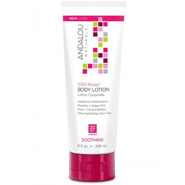 Andalou Naturals Andalou Body Lotion Soothing 1000 Roses 236ml