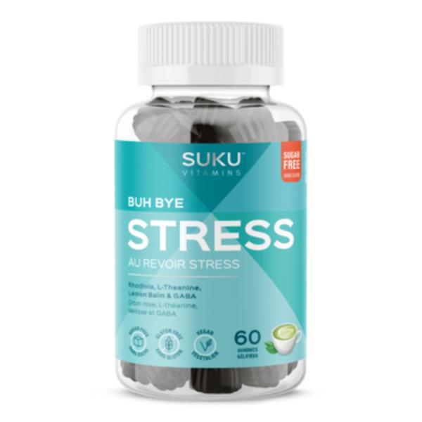 SUKU SUKU Buh Bye Stress 60 gummies
