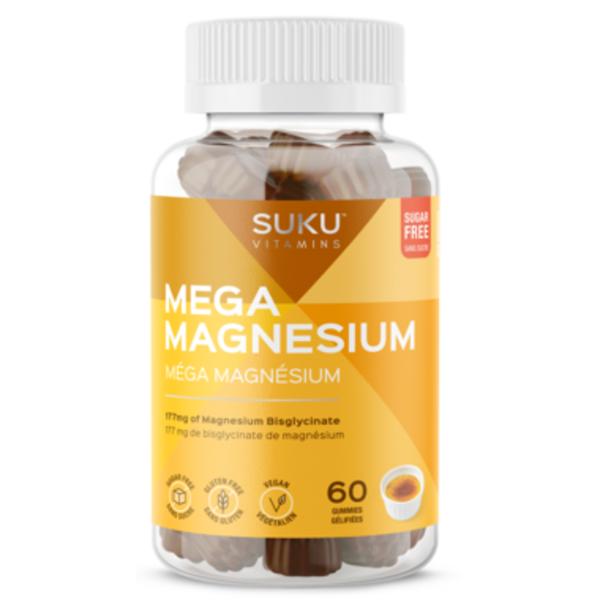 SUKU SUKU Mega Magnesium 60 gummies