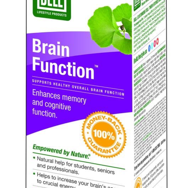 Bell Lifestyle Bell Brain Function 60 caps